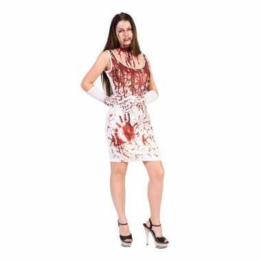 Originele halloween bloederige carnavalskleding dames