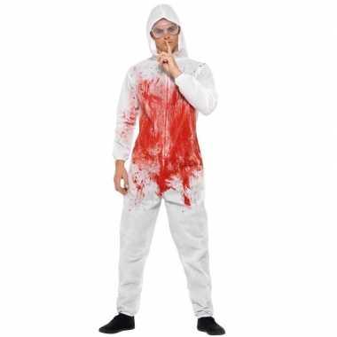 Originele halloween bloederige carnavalskledingl heren