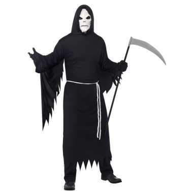 Originele halloween carnavalskleding magere hein masker volwassenen