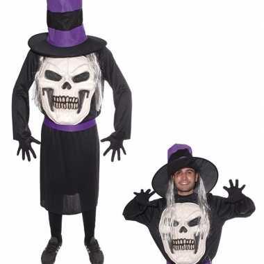 Originele halloween doodskop halloween hoed carnavalskleding heren