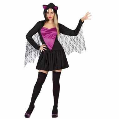 Originele halloween sexy vleermuis carnavalskleding