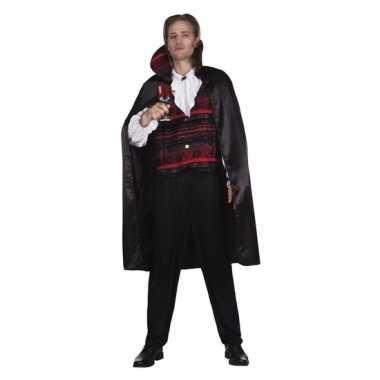 Originele halloween vampier heren carnavalskleding vampire emperor