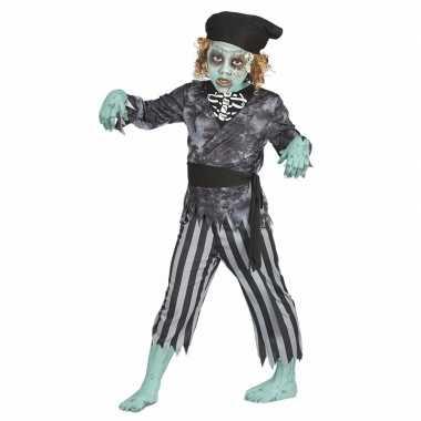 Originele halloween zombie piraten carnavalskleding jongens