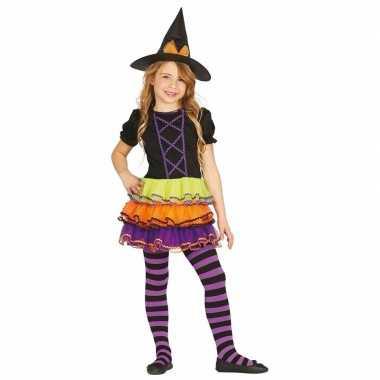 Originele heksen carnavalskleding brujita kinderen