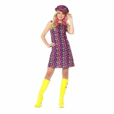 Originele hippie peace sixties carnavalskleding dames