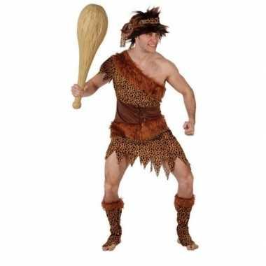 Originele holbewoner/caveman atouk verkleed carnavalskleding heren