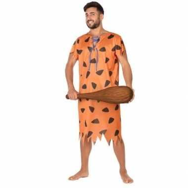 Originele holbewoner/caveman fred verkleed carnavalskleding heren