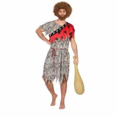 Originele holbewoner/caveman thag verkleed carnavalskleding heren