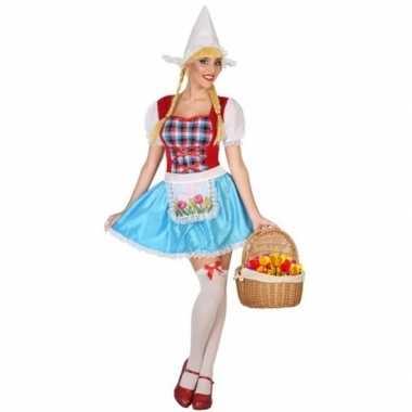 Originele hollands meisje carnavalskleding dames