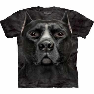 Originele honden t shirt pitbull volwassenen carnavalskleding