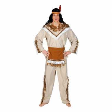 Originele indiaan adahy verkleed carnavalskleding heren