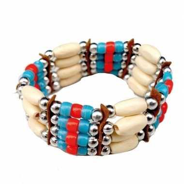 Originele indianen armbandje carnavalskleding