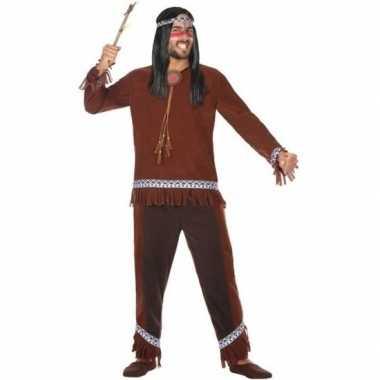Originele indianen choctaw verkleed carnavalskleding/carnavalskleding