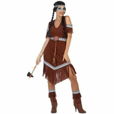 Originele indianen nahele verkleed carnavalskleding/carnavalskleding