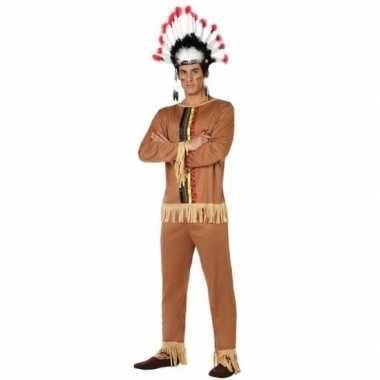 Originele indianen pallaton verkleed carnavalskleding/carnavalskledin