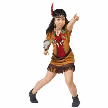 Originele indianen verkleed carnavalskleding meisjes
