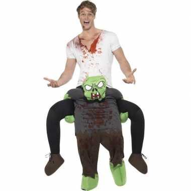 Originele instapcarnavalskleding zombie volwassenen