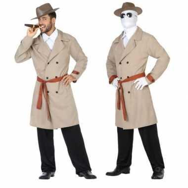 Originele invisible man/detective verkleed carnavalskleding/carnavals