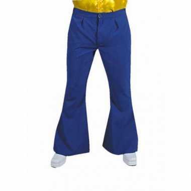 Originele  Jaren heren broek blauw carnavalskleding