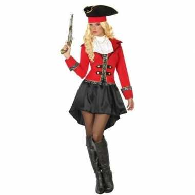 Originele kapitein piraat grace verkleed carnavalskleding/carnavalskl