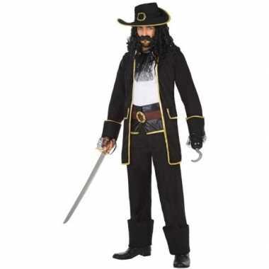Originele kapitein piraat thomas verkleed carnavalskleding/carnavalsk
