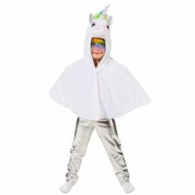 Originele kinder verkleed legging zilver carnavalskleding