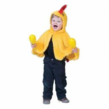 Originele kip/haan verkleed cape babys/peuters carnavalskleding