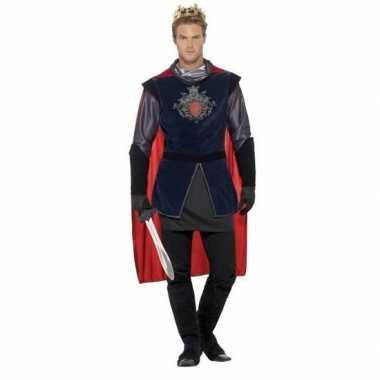 Originele koning arthur ridder carnavalskleding heren