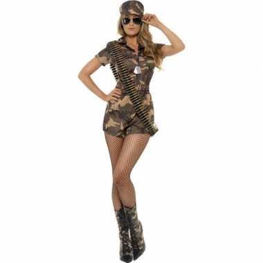 Originele leger carnavalskleding dames