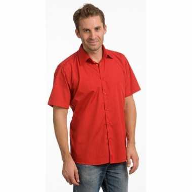 Rood Heren Overhemd.Originele Lemon Soda Overhemd Rood Heren Carnavalskleding