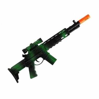 Originele marinier/militair speeldgoed verkleed wapens machinegeweer