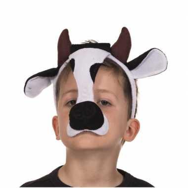 Originele masker koe geluid carnavalskleding