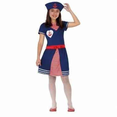 Originele matrozen verkleed carnavalskleding/carnavalskleding meisjes