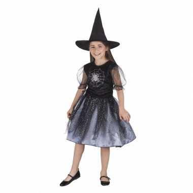 Originele meiden heksen carnavalskleding spin