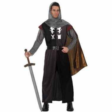 Originele middeleeuws ridder verkleed carnavalskleding heren