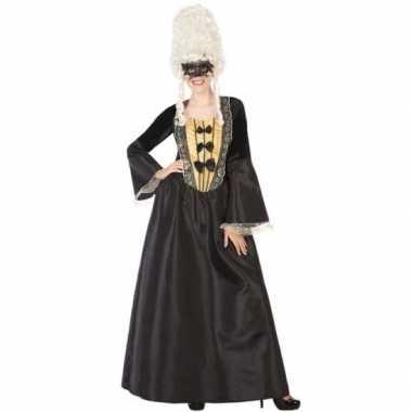 Originele middeleeuwse markiezin verkleed carnavalskleding dames