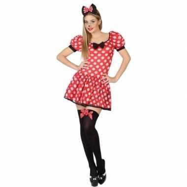 Originele muis/mouse verkleed carnavalskleding/carnavalskleding dames