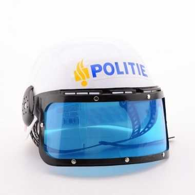 Originele nederlandse politie helmen carnavalskleding