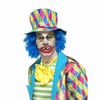 Originele neptanden horror clown carnavalskleding