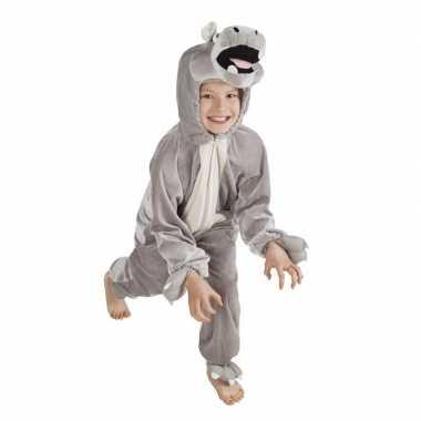 Originele nijlpaard carnavalskleding kinderen