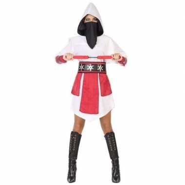 Originele ninja vechter verkleed carnavalskleding/carnavalskleding wi