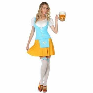 Originele oktoberfest voor oktoberfest verkleed carnavalskleding dame