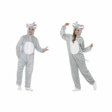 Originele olifant onesie carnavalskleding volwassenen