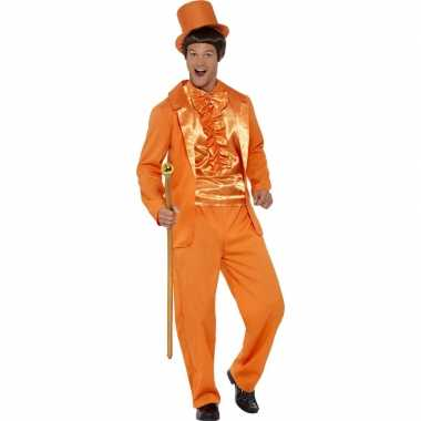 Originele oranje lloyd smoking heren carnavalskleding