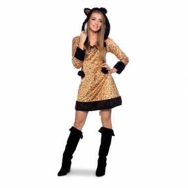 Originele panter dierencarnavalskleding carnavalskleding dames