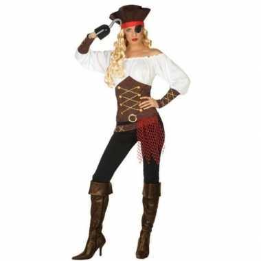 Originele piraat agatha verkleed carnavalskleding/carnavalskleding da