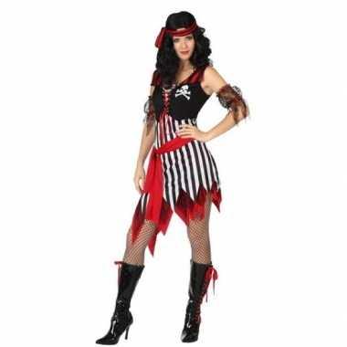Originele piraat bonny verkleed carnavalskleding/carnavalskleding dam