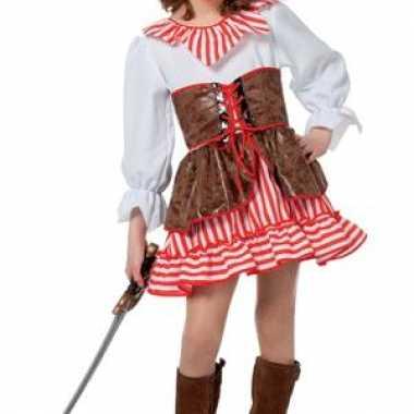 Originele piraat carnavalskleding meisjes
