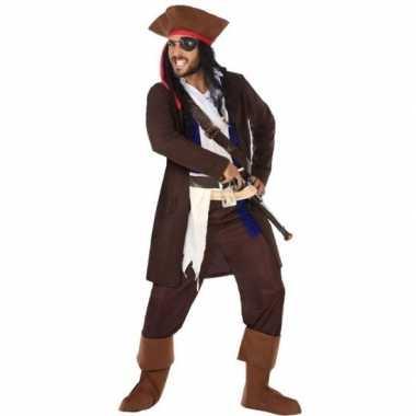 Originele piraat christopher verkleed carnavalskleding/carnavalskledi