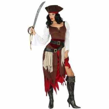 Originele piraat francis verkleed carnavalskleding/carnavalskleding d